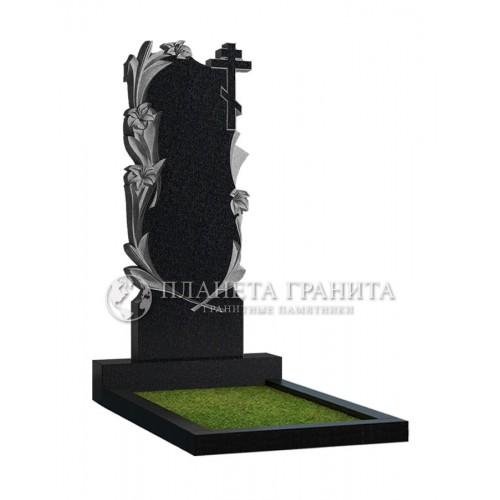 Памятник Ц3 «Памятник с лилиями и крестом»