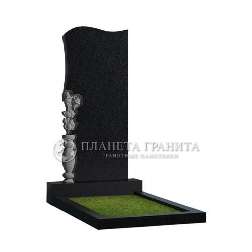 Памятник Ц7 «Памятник с вазой и розами