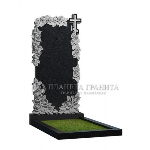 Памятник Ц13 «Памятник розы с крестом»