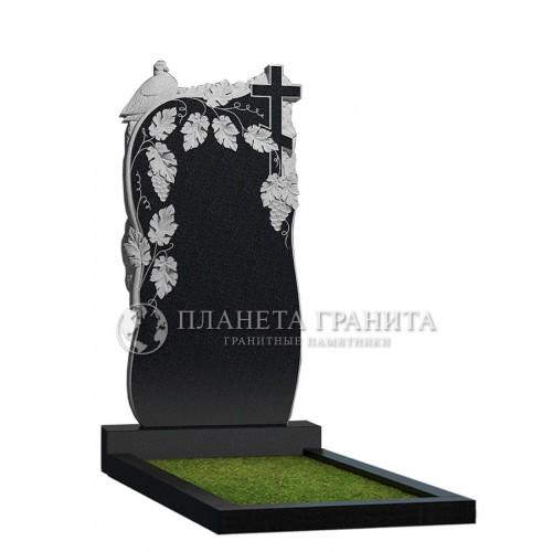 Памятник Д9 «Памятник виноградная лоза с голубем»