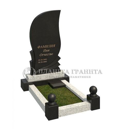 Комбинированный памятник К9-4