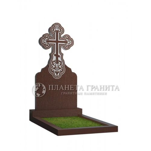 Памятник с крестом 11К