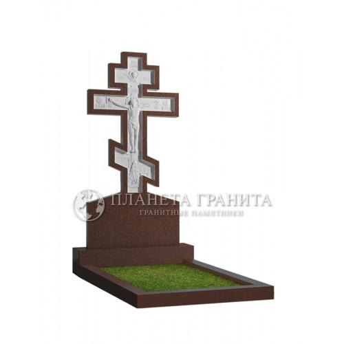Памятник с крестом 13К