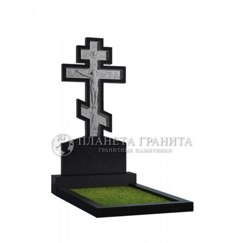 Памятник с крестом 13