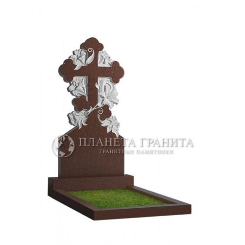 Памятник с крестом 2К