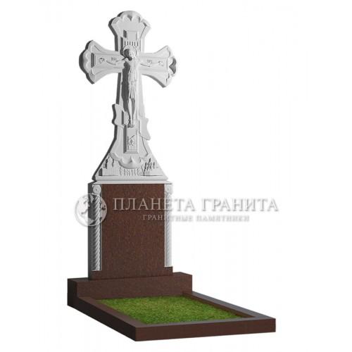 Памятник с крестом 8К
