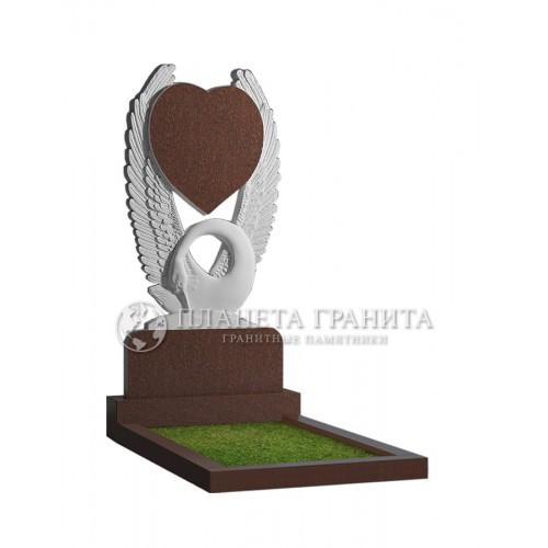 Памятник П5К «Лебедь с расправленными крыльями»