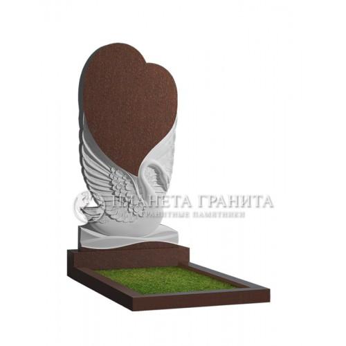 Памятник П6К «Лебедь с сердцем»